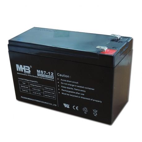Bateria Sai 12V 7 Ah sellada MHB