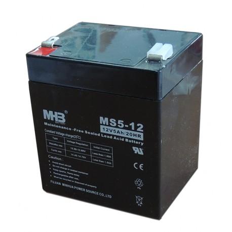 Bateria Sai 12V 5 Ah sellada MHB