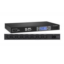 """Regleta PDU Rack 19"""" con monitorización Rack 8 x IEC C13 Lapara"""