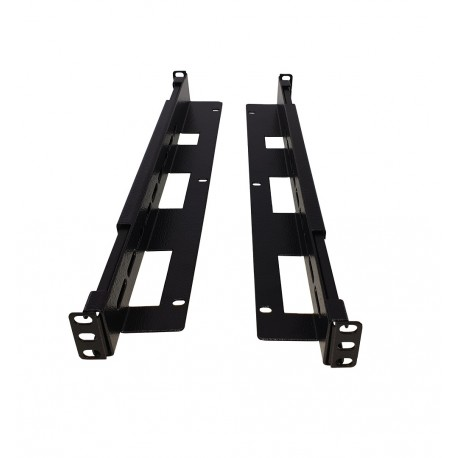 "Guía ajustable rack 19"" 470mm - 800mm fijación frontal"