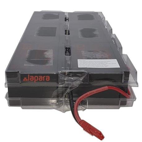 Banco baterías interno 6 X 12V 9Ah para SAIS de 3KVA Lapara