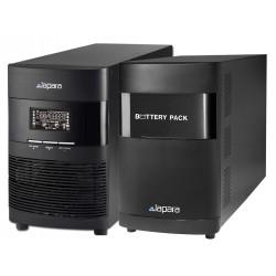 Sai 3000 VA Online LCD con extensión de baterías Lapara