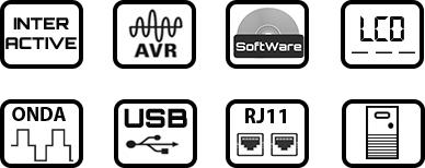 Características SAI LA-VST-1000VA
